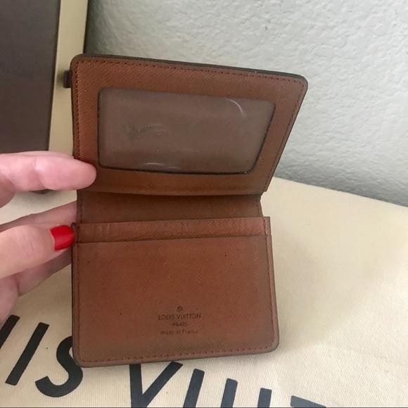 e2318302879 Louis Vuitton Other - Louis Vuitton Monogram ID Card Holder Mini Wallet